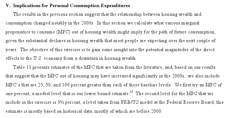 Link Housing Wealth Consumption Doms Dunn