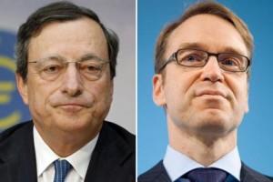 Draghi vs. Weidmann
