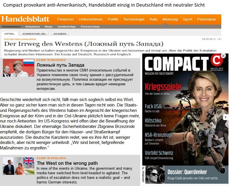 HandelsBlatt & Compact