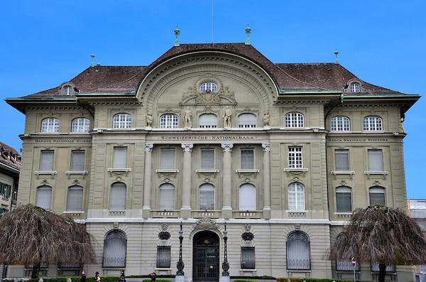Switzerland-Bern-Schweizerische-Nationalbank-Headquarters