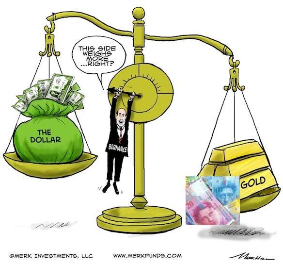 Bernanke Gold CHF