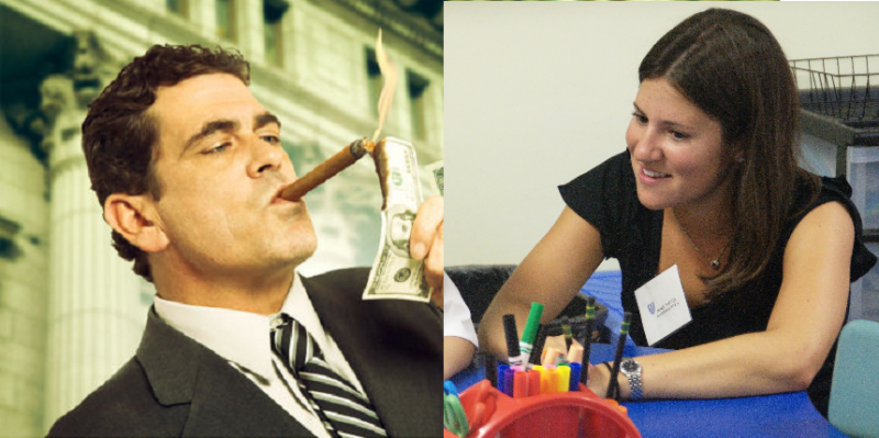 Hedge Fund vs. Kindergarten