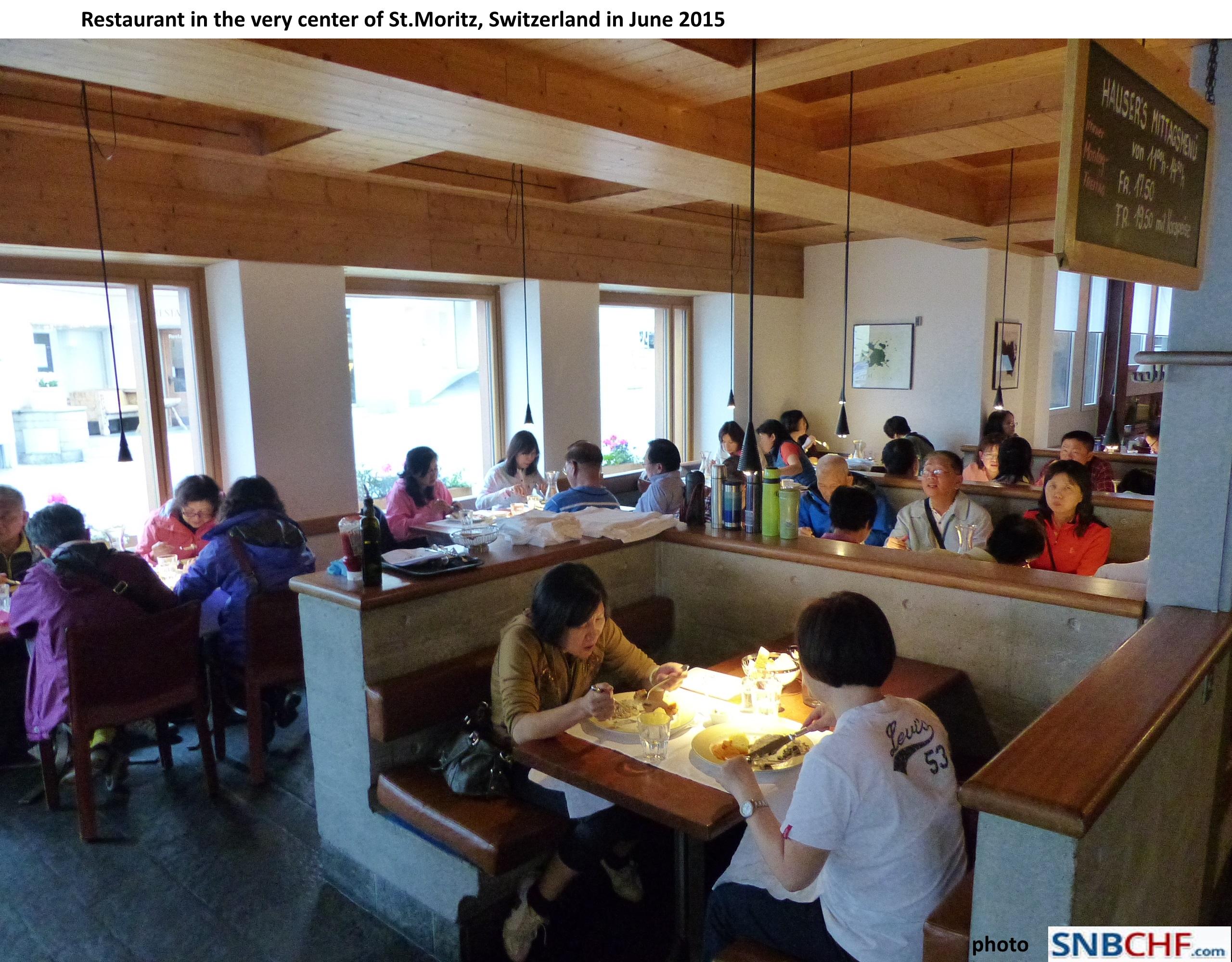 St. Moritz Restaurant Full Chinese2