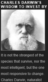 Charles Darwin, survive that are responsive to change