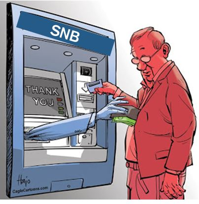 SNB negative rates