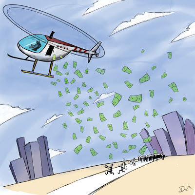 Is that Buzzing Sound Helicopter Money?