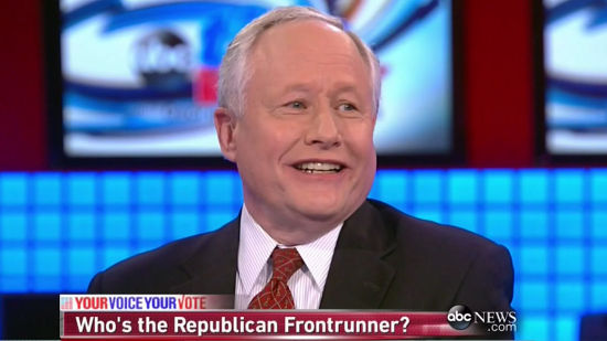 Bill Kristol exercising his dubious punditry skills. He is actually the very last person one should ask… about anything.