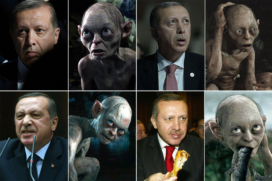 Bilgin Çiftçi was fired from his job at Turkey's public health service last October and detained after comparing Erdoğan to Gollum.