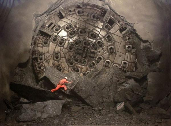 Introducing The Gotthard Train Tunnel, The World's Longest & Deepest Train Tunnel