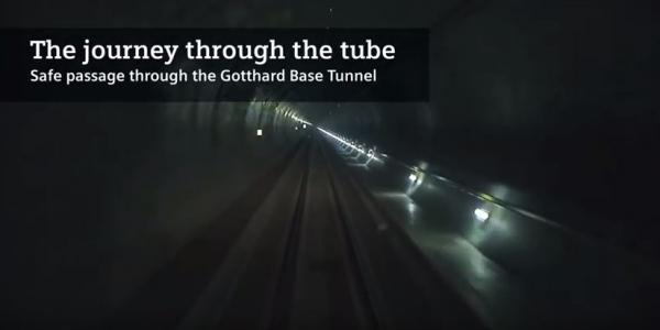 The journey through the tube
