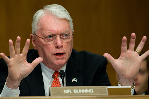 Kentucky senator Jim Bunning