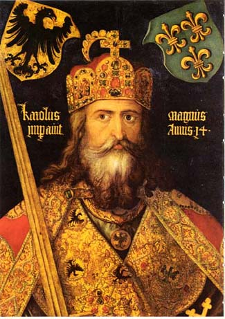 Karolus Magnus, Painting by Albrecht Dürer