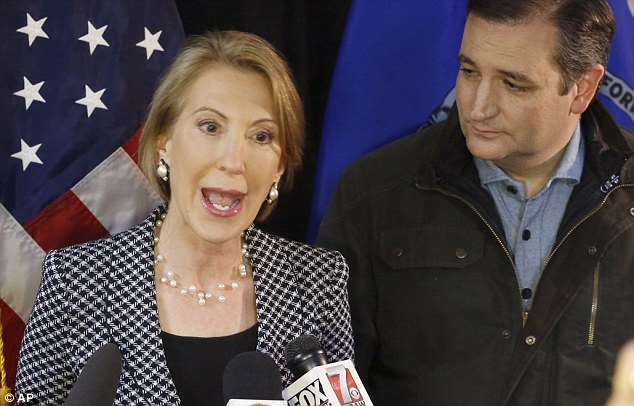 Ted Cruz and Carly Fiorina