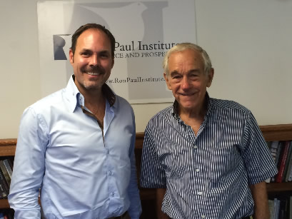 Ron Paul Speaks with Claudio Grass