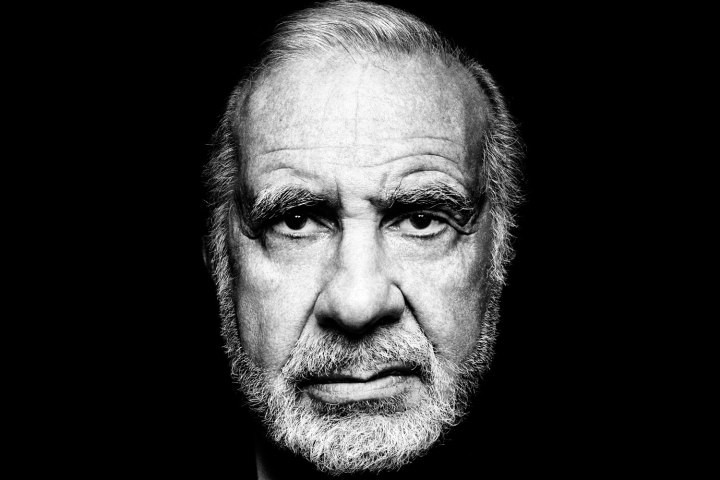 Carl Icahn Photo credit: Platon for Time