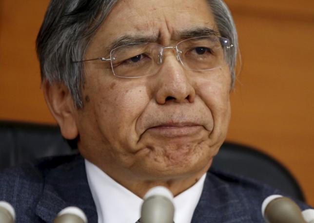 BoJ governor Haruhiko Kuroda Photo credit: Toru Hanai / Reuters