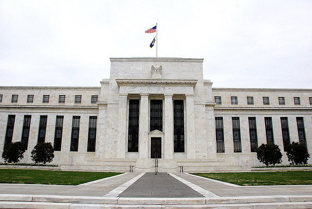 Federal Reserve – still managing to maintain enough confidence Photo credit: Adam Fagen / Flickr