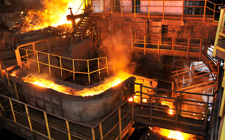 Steel factory Photo credit: Laurentiu Iordache