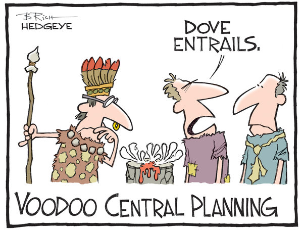 "Fed economists studying ""incoming data"". Cartoon by Bob Rich"