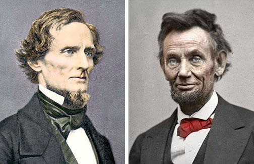 compare and contrast lincoln and jefferson davis As someone who is reasonably familiar was the life and career of abraham lincoln, but to whom the life and career of jefferson davis remains largely an.