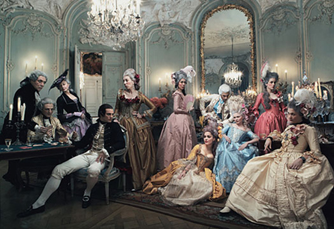 """18th century French aristocrats… the """"foxes"""" of yesteryear."""