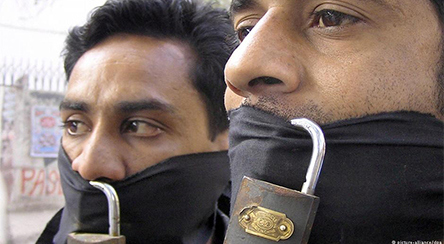 Don't worry, we'll only muzzle the bad guys! Photo credit:Picture Alliance / DPA