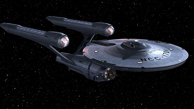 Socialist space ship USS Enterprise Image credit: Paramount
