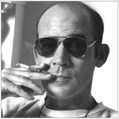 Gonzo! Hunter S. Thompson, who had the theory that the truth is never told during the nine-to-five hours…