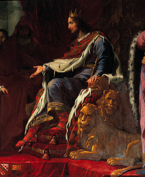 King Solomon by Giambattista Tiepolo