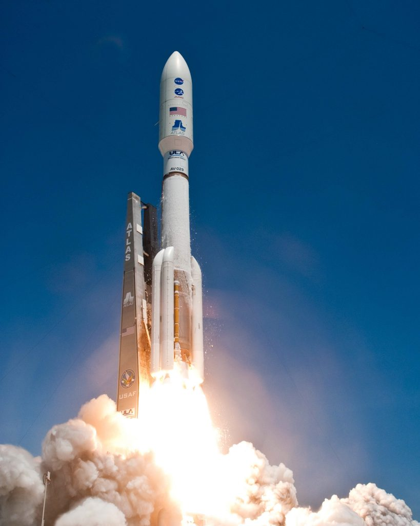 A hi-ho silver moment… Photo credit: Pat Corkery, United Launch Alliance– OMG!