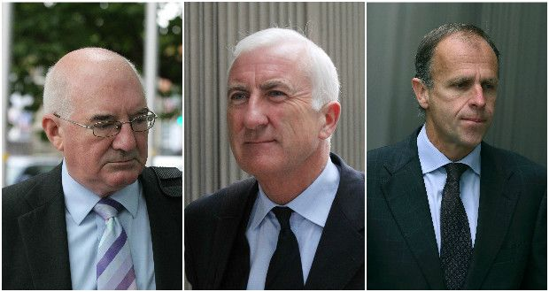 Willie McAteer, Denis Casey, John Bowe
