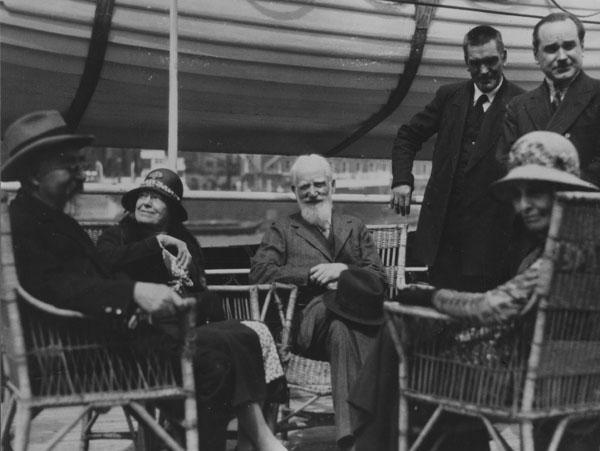 Sidney Webb, Charlotte, Bernard Shaw, Beatrice Webb