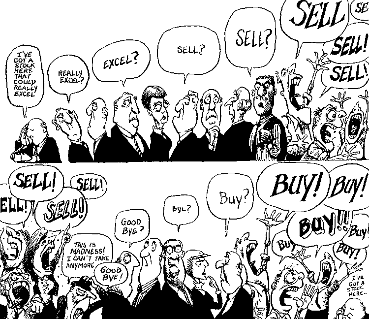 Stock Market Cartoons