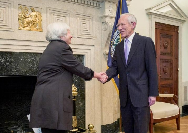 Janet Yellen, Stanley Fischer