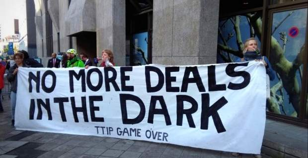 No more deals in the dark