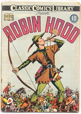 Robin Hood Classic Comics