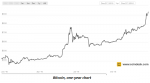 Bitcoin One-Year Chart