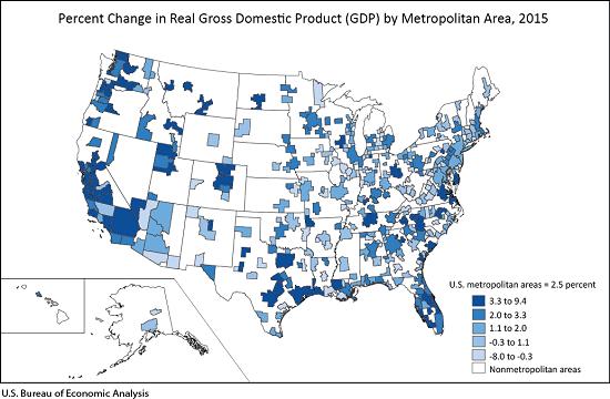 GDP Metropolitan Area