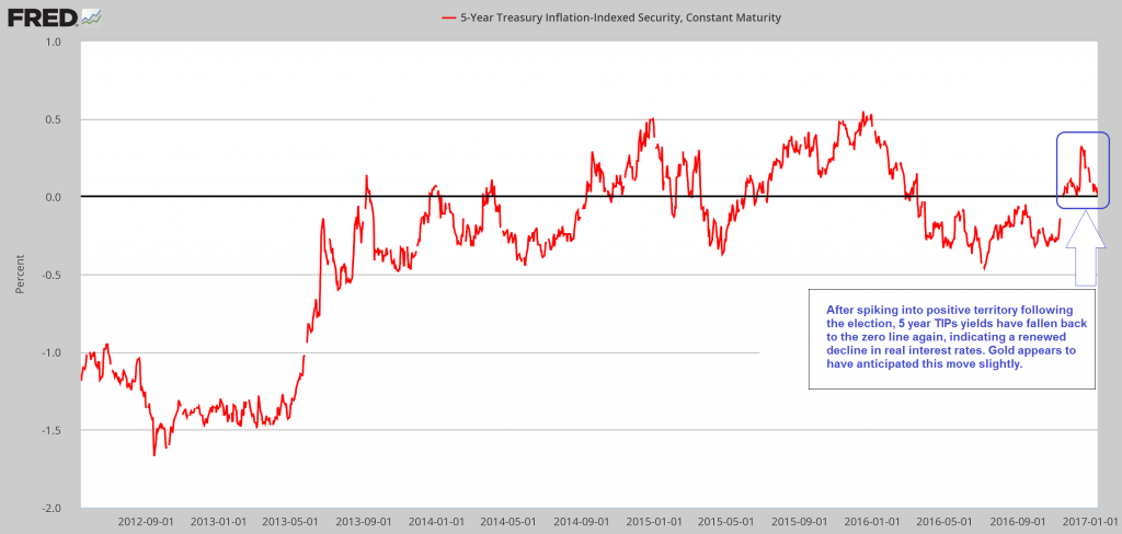 5 Year Treasury Inflation-Indexed Security.