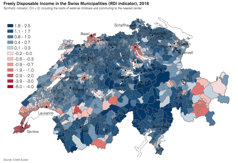 Switzerlands costliest cantons for tax housing health commuting
