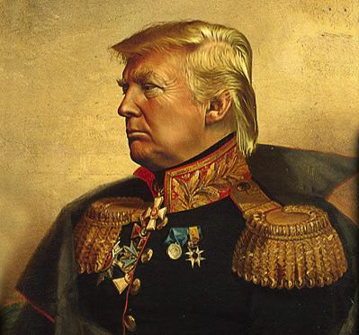 Field Marshal Trump