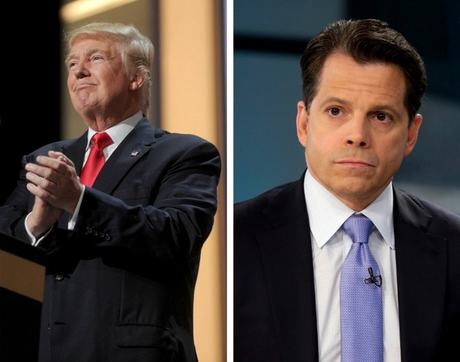 Trump and Scaramucci