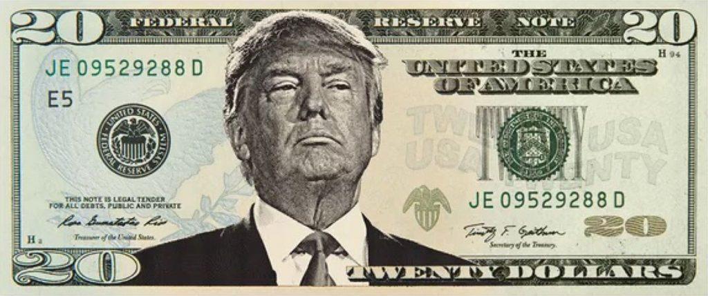 Donald Trump Banknote