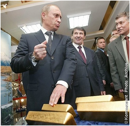 Russia Gold Buying Returns – Buys One Million Ounces In January