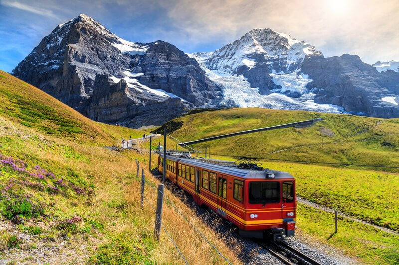 Swiss-train