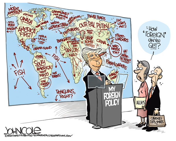 Image result for trump g20 cartoon