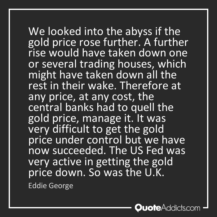 Bank of England Rigging LIBOR – Gold Market Too?