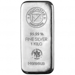 Singapore Germany Silver Bullionstar Bar 1kg
