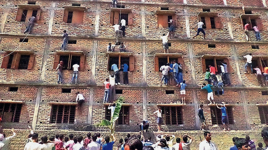 India Cheating on Exams