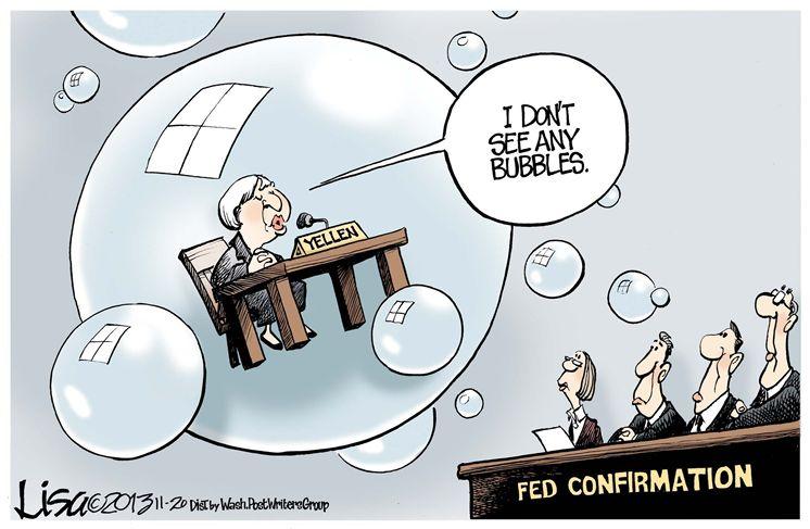 No bubbles